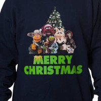 Muppets Christmas Faux Ugly Sweater