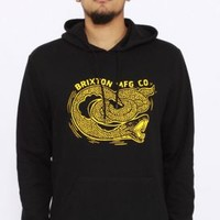 Brixton, Shrine Pullover Hoodie - Black - Brixton - MOOSE Limited