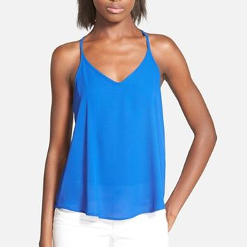 Junior Women's Lush Strappy Swing Tank,