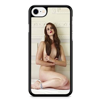 Lana Del Rey Naked 2 iPhone 8 Case