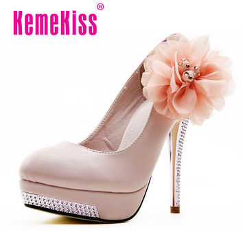 KVOLL D5614  high heel shoes women lady sexy dress fashion heels pumps big discount for clear size 34-40