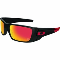 Oakley Men's Fuel Cell Rectangular Sunglasses,Matte Black,60 mm