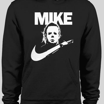 MICHAEL MYERS NIKE LOGO MASH UP WINTER HOODIE
