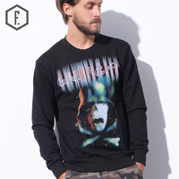 Pullover Winter Men's Fashion Alphabet Hoodies [8822219523]