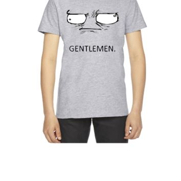 Gentlemen meme - Youth T-shirt