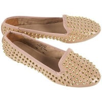MAVERIQ Heavy Studded Slippers - Flats  - Shoes