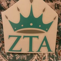 ZTA Window Decal