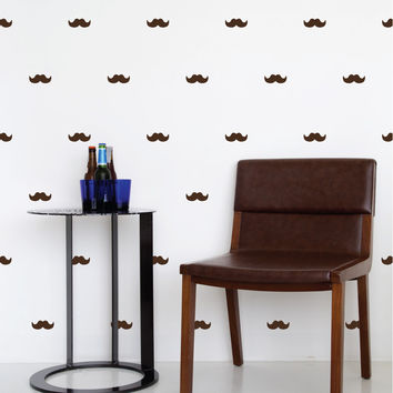 Mustache Mini-Pack Wall Decals