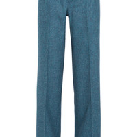Gucci | Wool-flannel wide-leg pants | NET-A-PORTER.COM