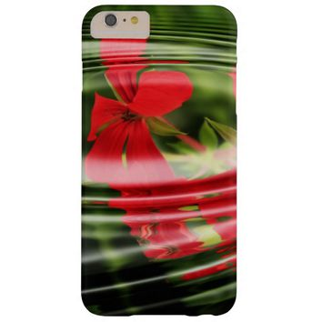 flowers and waves barely there iPhone 6 plus case