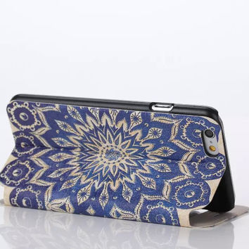 Beautiful Datura Flower Print creative case Cover for iPhone 6S 6 Plus Samsung Galaxy S6