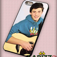 """Shawn Mendes Guitar for iphone 4/4s/5/5s/5c/6/6+, Samsung S3/S4/S5/S6, iPad 2/3/4/Air/Mini, iPod 4/5, Samsung Note 3/4 Case """"08"""""""