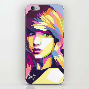 Swift Pop Art iPhone & iPod Skin by Neon Monsters