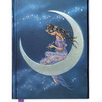 Jean & Ron Henry: Moon Maiden (Foiled Journal) - Flame Tree Publishing