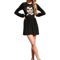 Eddie Munster Long Sleeve Skater Dress