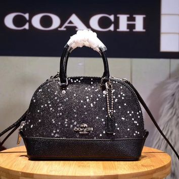 COACH WOMEN'S LEATHER MINI BB HANDBAG SHOULDER BAG