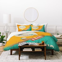 Anderson Design Group Dive California Duvet Cover