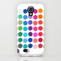 Samsung Galaxy S4 Case - Hexagon Color Chart