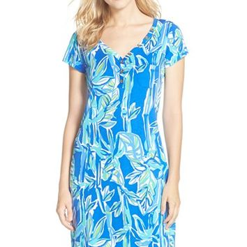Women's Lilly Pulitzer 'Palmira' Print Pima Cotton Shift Dress,