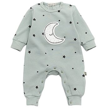 Sweet as Sugar Couture Little Star Romper-Mint