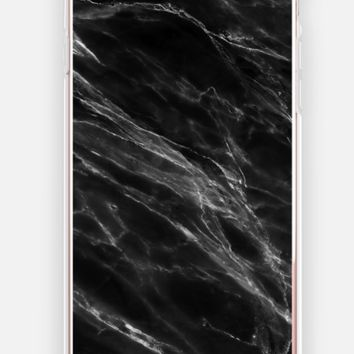 Marble - iPhone 7 Case {Black}