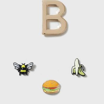 'B is for' Initial Pin Pack
