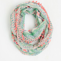 ModCloth Boho Stimulate Your Style Circle Scarf