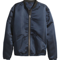 H&M - Satin Pilot Jacket