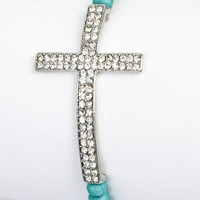 Stretch Cross Bracelet | Friendzy