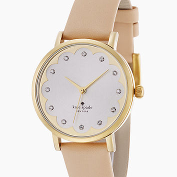 Kate Spade Scallop Metro Watch Vachetta ONE