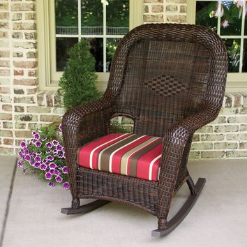 Lexington Resin Wicker Rocking Chair by Tortuga Outdoors