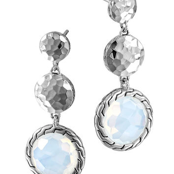 Batu Palu Silver Triple Drop Earrings - John Hardy