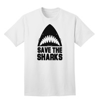 Save The Sharks Adult T-Shirt