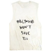 Hollywood won't save you