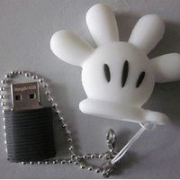 4GB Cool Mickey Hand style USB flash drive