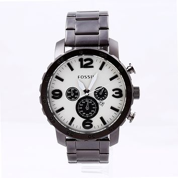 FOSSIIL fashion ladies / men's watches F-PS-XSDZBSH Black + white face