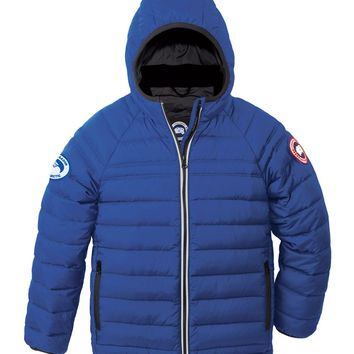 Sherwood Hooded Puffer Jacket Royal Blue Size Xs| Best Deal Online