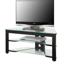 """Walmart: Convenience Concepts Designs2Go Wood and Glass TV Stand for TVs up to 46"""""""