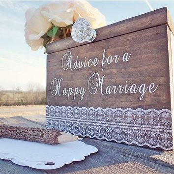 Marriage Advice Box