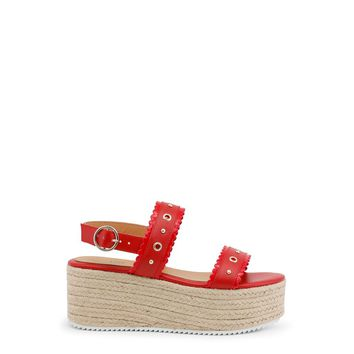 Love Moschino Red Shoes