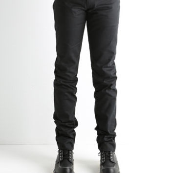 Japan Blue by Momotaro JB0450 Slub Chino Selvage Black