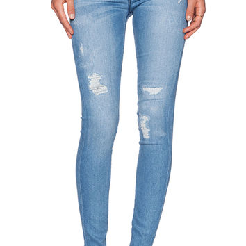 Hudson Jeans Nico Midrise Super Skinny in Buzzworthy
