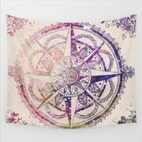 Compass Tapestry Colored Cool Indian Mandala Decorative Wall Tapestries 130cmx150cm 153cmx203cm tapisserie HHA89