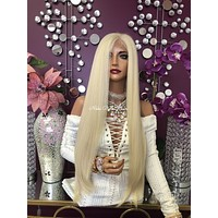 """Blond 360 Multi Parting lace front wig 30"""" - Purity 1018"""