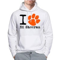 I Love Ed Sheeran Orange Paw Hoodie -tr3 Hoodies for Man and Woman