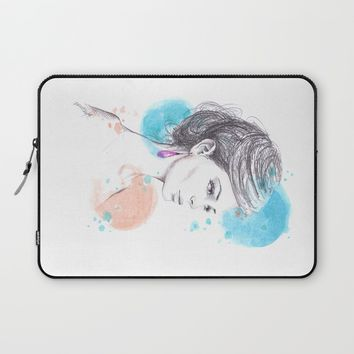 Earring Laptop Sleeve by EDrawings38 | Society6