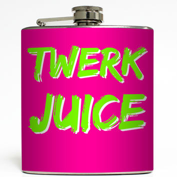 Twerk Juice - Funny Flask