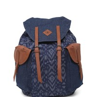 Volcom Wayward Oversized Rucksack School Backpack - Womens Backpack - Blue - One