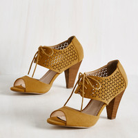 Live in the Movement Heel | Mod Retro Vintage Heels | ModCloth.com