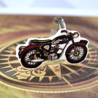 Motorbike Ring - Bows Jewellery